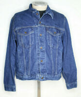 Vintage Levis Denim Jacket Size 42 Large Made in USA Type 3 1980s