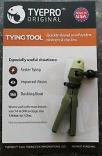 NEW Tyepro ORIGINAL Fishing Knot Tying Tool - Threads SMALL Eyelets, Clips Line