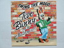 "Jive Bunny And The Mastermixers 12"" 45 rpm Vinyl Single Swing The Mood 1989"