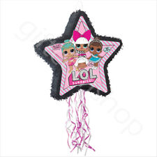 LOL Surprise Pull String Pinata Girls Kids Birthday Party Decoration Game Toys