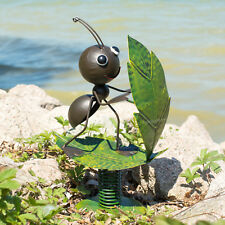 Surfin' Ant Metal Garden Ornament Outdoor Decorative Sculpture Figurine Statue