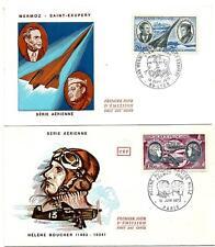 2 Enveloppes Poste Aérienne 1970 et 1972.