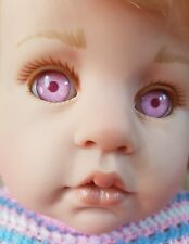 GÖTZ Babypuppe Künstlerpuppe Hildegard Günzel 1999 Kinderland rosa Augen rar!❤