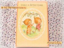 🌳 BETSEY CLARK Vintage 1980 DIARIO scuola bambina school diary Made Italy 1980