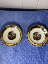 Vintage Porcelain Bowls 5in set of 2