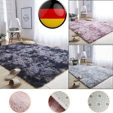 Flauschige Teppiche Hochflor Shaggy Langflor Uni Farben Wohnzimmer Pflegeleicht.