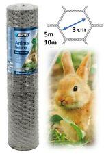 Metal Animal Run Wire Fencing Rabbit Cage Pen Garden Netting Chicken Wire Mesh