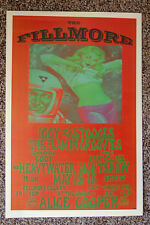 Iggy and The Stooges Concert Tour Poster 1970 San Fran