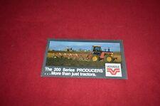 Versatile Tractor 276 256 Tractor Dealer's Brochure YABE