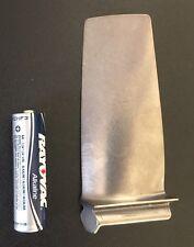 F-16/F-15 Titanium Jet Engine Blade.  USAF Pilot Gift Turbine Boeing Eagle Model