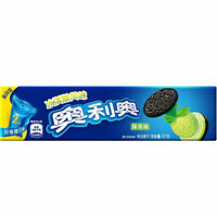 Pack of 5 Oreo Biscuits Cookies Snack Ice Cream Matcha Flavor 冰淇淋风味抹茶味 (97g*5)