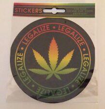"NEW - ""Legalize"" -  Die Cut Sticker - NEW"