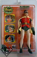 """ROBIN DC Batman Classic 1966 TV Series 8"""" Retro Clothed Figure Series 1 2014"""