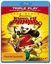 *BRAND NEW & SEALED* Kung Fu Panda 2 (Blu-ray + DVD, 2-Disc Set) Triple Play AUS