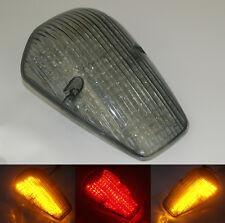 Tail Brake Turn Signals Led Light Smoke Fit 2002-2009 HONDA VTX 1300 1800 CUSTOM