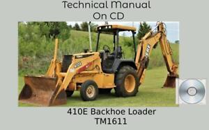 John Deere 410E Backhoe Loader Repair Technical Manual TM1611
