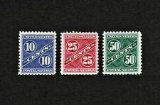 PS7-8-9 10c 25c 50c Postal Savings Stamps Unused No Gum