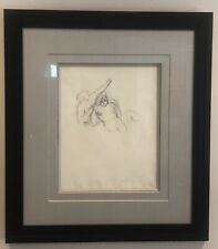 Sandro Chia Pencil Drawing 1983 Signed Framed