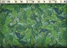 Quilting Treasures ~ Green Quilters Prints Fern ~ 100% Cotton Quilt Fabric BTY