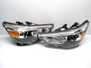 2011 -2019 Mitsubishi Outlander Sport Headlight LH RH PAIR Left Right OEM