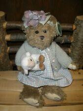 "Bearington Bear Mary & Little Lamb 14"" Plush with Tags (Style# 1463)"