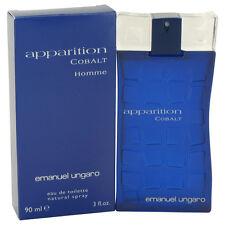 Apparition Cobalt Cologne By UNGARO FOR MEN 3 oz Eau De Toilette Spray 480214