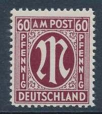 Bizone Nr. 33 V postfrisch / **, PLATTENFEHLER (24642)