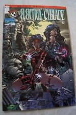 CLASSIC IMAGE COMIC BOOK - Elektra - Cyblade - Issue # 1 - Devil's Reign # 7