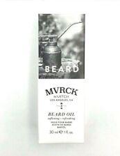 MVRK by Mitch Los Angeles, CA Beard Oil Softening + Refreshing 1oz 30ml New
