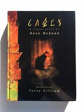 Dave McKean 'CAGES,' HC First Edition 1998 / Sandman /  Collects Cages 1-10