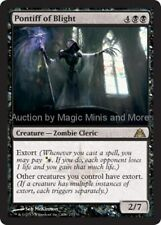 Dragon's Maze ~ PONTIFF OF BLIGHT rare Magic the Gathering card
