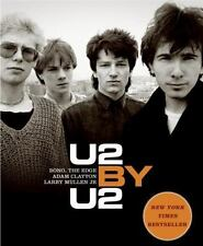 U2 by U2 by Adam Clayton Larry Mullen The Edge & BONO softcover illus. book NEW!