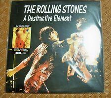 """ROLLING STONES """"A DESTRUCTIVE ELEMENT """" 2 COLOURED LP LIVE BIRMINGHAM ODEON 1973"""