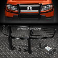 FOR 03-11 HONDA ELEMENT 4D Y1/H1 BLACK COATED MILD STEEL FRONT GRILL FRAME GUARD