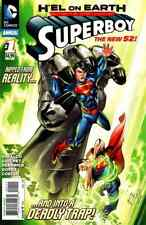 SUPERBOY #1 ANNUAL NEAR MINT 2013 UNREAD DC COMICS bin-2017-5762