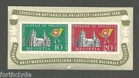 SWITZERLAND 1955  NATIONAL PHILATELIC EXPO MINT MINIATURE SHEET SG MS561a   57