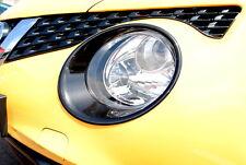 Nissan Juke 2014 Head Lamp Light Surround Trims Gloss Black Genuine KE610BV260BZ