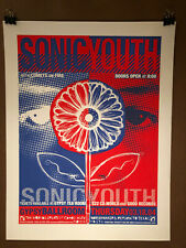 Sonic Youth Dallas 2004/gig poster/Todd Slater