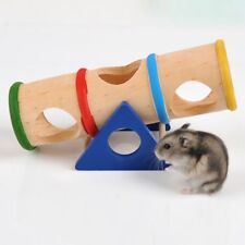 1* Colorful Hamster Seesaw Tube Tunnel House Pet Toy Puppy Training Playing Best