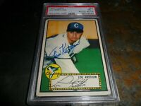 1952 TOPPS #42 Lou Kretlow PSA/DNA Certified Auto CHICAGO WHITE SOX  D.2007