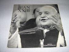 JEAN XXIII 25CMS FRANCE L'ELECTION DE JEAN XXIII