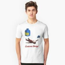 CURIOUS GEORGE T SHIRT FUNNY JOKE PUN