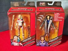 DC Multiverse Suicide Squad Harley Quinn & Captain Boomerang Killer Croc Collect