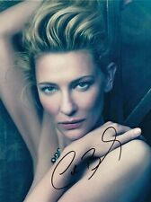 Cate Blanchett Signed  8x10 auto photo in Excellent Condition