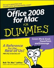 Office 2008 for Mac For Dummies-Bob LeVitus
