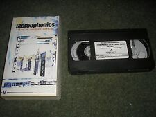 VHS PAL VIDEO-STEREOPHONICS LIVE AT CARDIFF CASTLE 1998 19 TRACKS