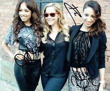 The SUGARBABES Band SIGNED Autograph 10x8 Photo AFTAL COA Girl Group Music
