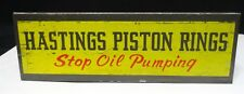 HASTING PISTON RINGS * AUTO CATALOG RACK * DISPLAY * STOP OIL PUMPING * STAND