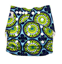 MODERN CLOTH NAPPIES MCN DIAPERS POTTY REUSABLE ADJUSTABLE RETRO SHELL