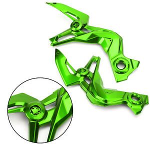 Motorcycle ABS Plastic Frame Guard Cover Trim for Kawasaki Z900 2020-2021 F6